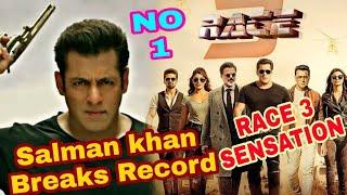 Video Race 3 Trailer Salman khan Breaks Record   No.1 Trend before 24 Hours Salman Khan Race 3 TRAILER MP3, 3GP, MP4, WEBM, AVI, FLV Mei 2018