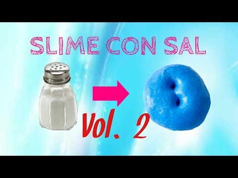 Slime Con Sal