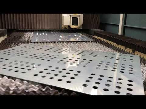 4mm ALUMİNYUM ELEK İMALATI-  4MM GRIDDLE PRODUCTION