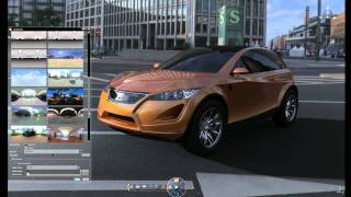 NVIDIA Maximus makes photorealistic rendering in CATIA V6 completely interactive