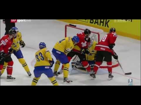 sverige - IIHF World Championship 2013, All Goals, SWEDEN - SWITZERLAND 5:1, Gold Medal Game.