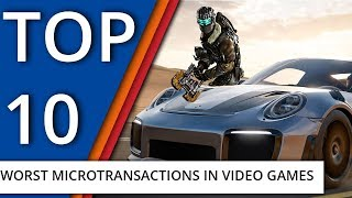 Top 10 worst microtransactions in video games