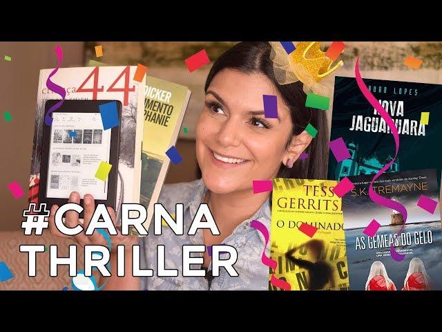 #CarnaThriller: Leituras de suspense pro feriado! * - 2Beauty