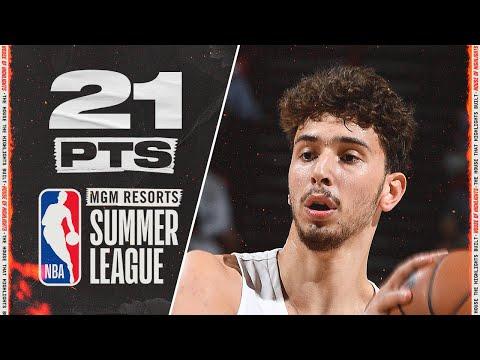 Alperen Sengun Summer League vs. Pistons