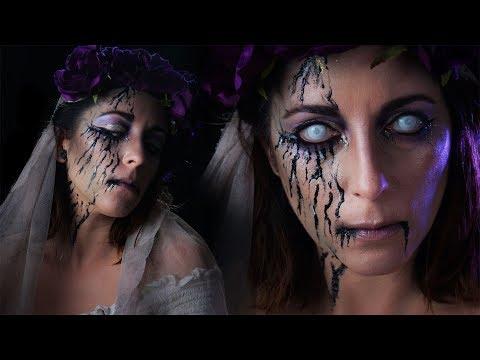 La Mariée morte / Maquillage Halloween facile