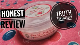 Greenberry Organics Rose After Bath Cream | Sleep In A Bed Of Roses | Honest Post 1 Month Review
