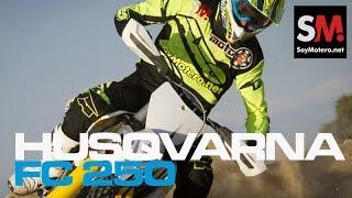 7. Husqvarna FC 250 2015: Prueba Motocross