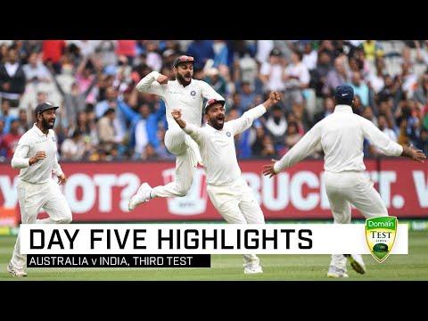 India retain Border-Gavaskar trophy | Third Domain Test