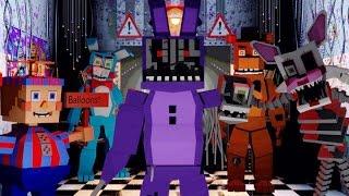 Minecraft   FIVE NIGHTS AT FREDDY'S MOD Showcase! (Five Nights at Freddy's Maze, Withered Bonnie)
