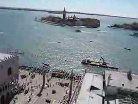 ecinajx19 - Venice from the belltower in Saint Mark's Square. Turn up your audio!