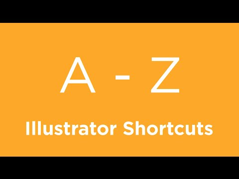 A To Z Of Adobe Illustrator Shortcuts