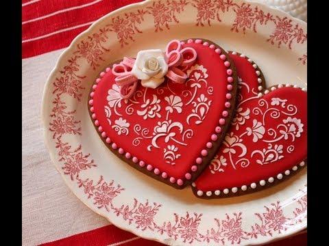 san valentino: biscotti cuore decorati - la ricetta