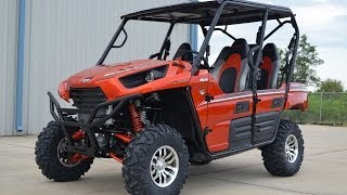 9. $14,399: 2014 Kawasaki Teryx4 800 LE Candy Burnt Orange