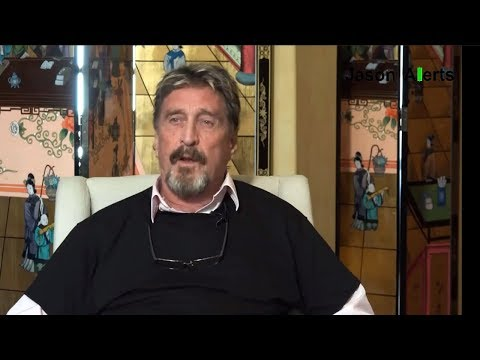 John McAfee Caught LYING About Bitcoin Cryptocurrency (видео)