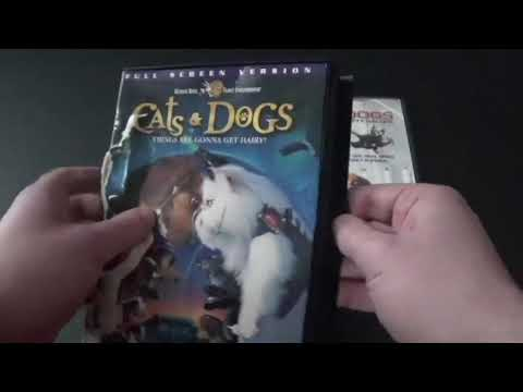 Cats and Dogs and Cats and Dogs the Revenge of Kitty Galore DVD Review.