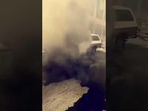 العرب اليوم - شاهد: سائق ينجو من الموت بأعجوبة