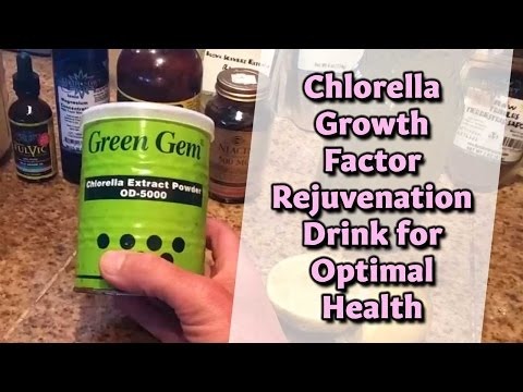 Dr. Robert Cassar on Chlorella Growth Factor