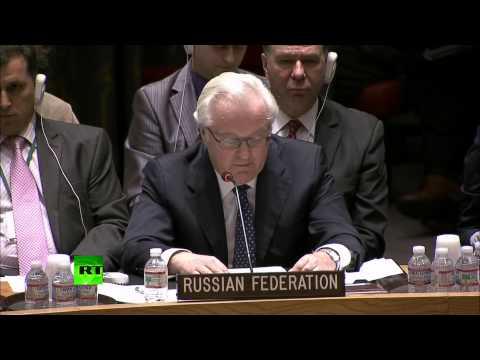 Выступление Чуркина в ООН