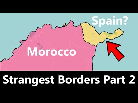 The World s Strangest Borders Part 2 Spain