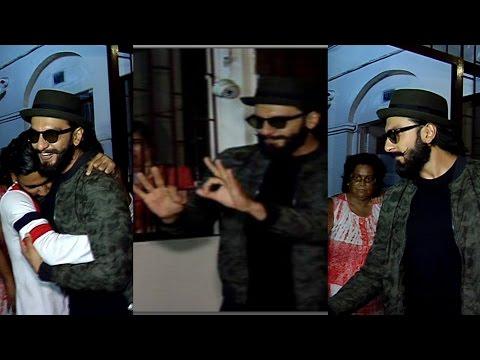 Ranveer Singh Spotted At Shankar Mahadevan Studio