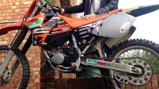 8. Ktm sx 125 1998 havent had running for about 6 months