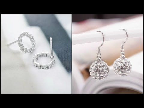 Pure Silver Earrings For Indian Women