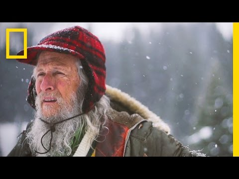 Guy spends 40 Years alone in the woods, records snowfall levels every day.