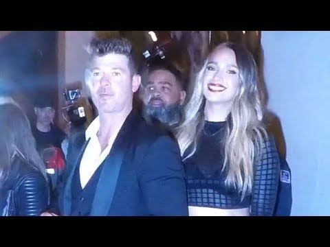Robin Thicke And April Love Geary Cause Chaos In West Hollywood