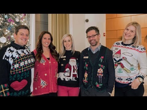 Join the ugly sweater party at Streeter Place apartments