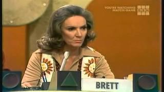 "Brett: ""Well......"" *buzz*Larry Hovis, Brett Somers, Charles Nelson Reilly, Patti Deutsch, Richard Dawson, Madlyn Rhue"