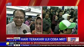 Video Hari Terakhir Uji Coba, Warga Penuhi MRT Jakarta MP3, 3GP, MP4, WEBM, AVI, FLV Maret 2019