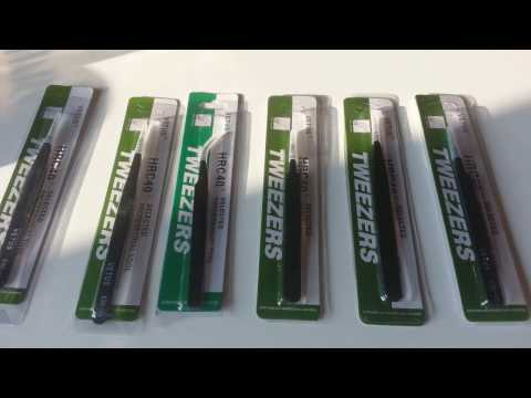 6Pcs Anti-Static Different Size Vetus ESD Tweezers ESD10 to ESD15 from Banggood