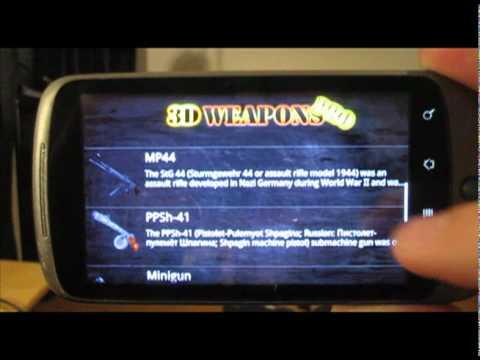 Video of 3DWeapons