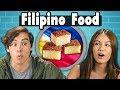 Teens Try Filipino Food | People Vs Food