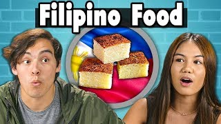 Teens Try Filipino Food | People Vs. Food