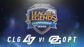 Video CLG vs. OPT - Week 9 Day 1 | NA LCS Spring Split | Counter Logic Gaming vs. OpTic Gaming (2018) MP3, 3GP, MP4, WEBM, AVI, FLV Juni 2018