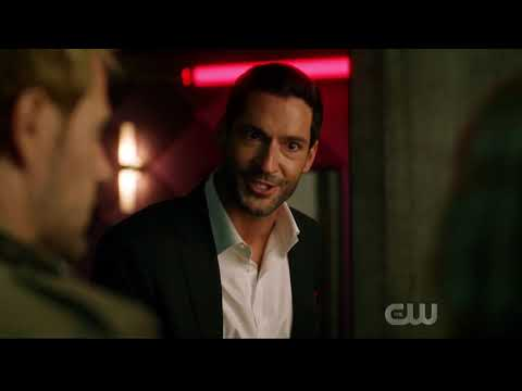 Lucifer meets Constantine, Diggle and Mia   Crisis on Infinite Earths Hour two