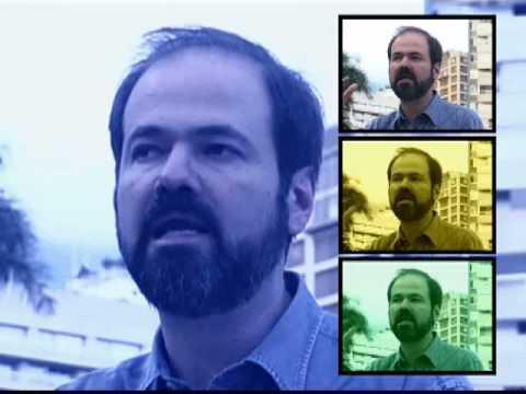 El escritor venezolano Alberto Barrera entrevista a Juan Villoro, para el programa 'Miradas urbanas'. Parte 3