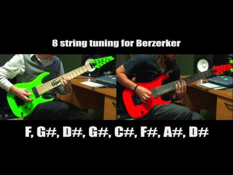 "After The Burial ""Berzerker"" Intro Play Along Video"