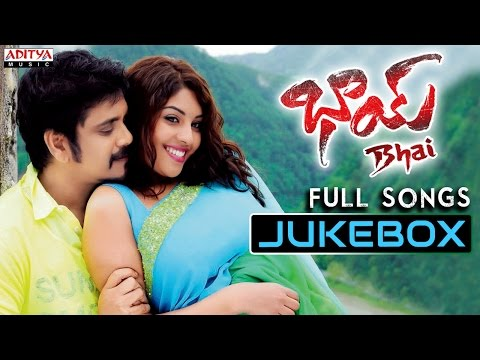 Bhai Telugu Movie Full Songs - Jukebox - Nagarjuna, Richa Gangopadyaya