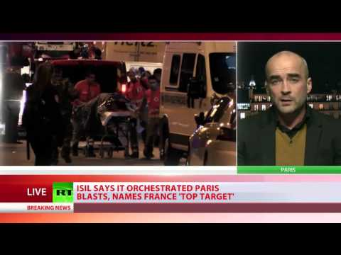 Political author Gearoid O Colmain discusses the Paris attacks with RT