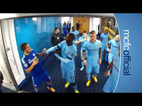 tunnel - Behind the Scenes in the tunnel from the Etihad Stadium. See Pablo Zabaleta's reaction to his sending off and Frank Lampard is reunited with Jose Mourinho. S...