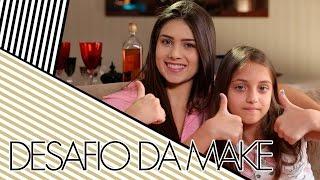 Hoje a Maria está comigo para fazermos um desafio da maquiagem onde uma tenta maquiar a outra seguindo exemplos doidos! ✸✸✸ INSCREVA-SE NO CANAL: http://bit...