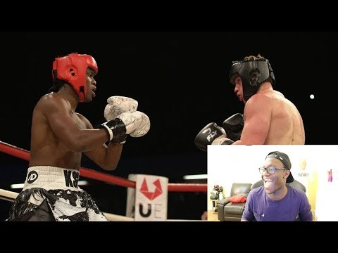 REACTING TO MY BRO'S FIGHT (KSI vs Joe Weller) (видео)