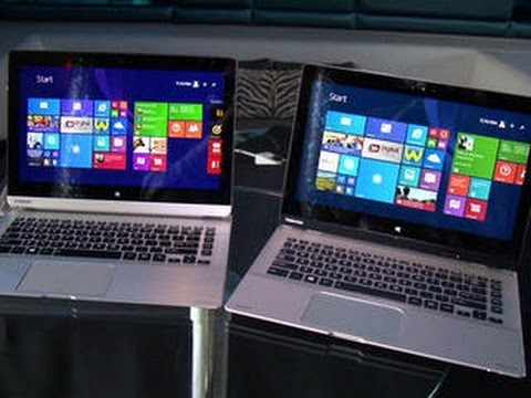 Toshiba - http://cnet.co/1rlrCQk New two-in-one hybrids offer 13-inch screens and slim designs for under $600 or more than $1000.