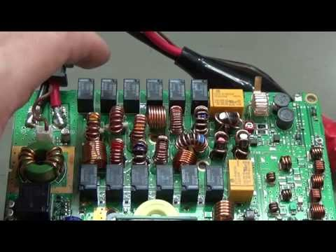 #46 HAM Radio Tutorial: How can a relay be tested like those in the low pass filter