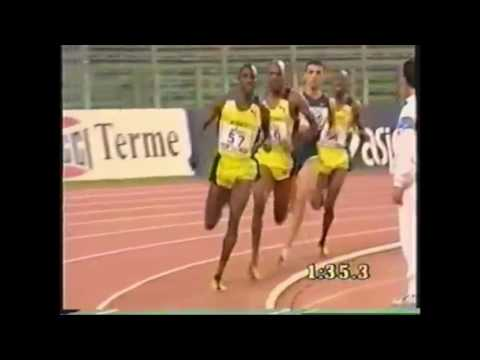 Epic Hicham El Guerrouj World Record 1500 m