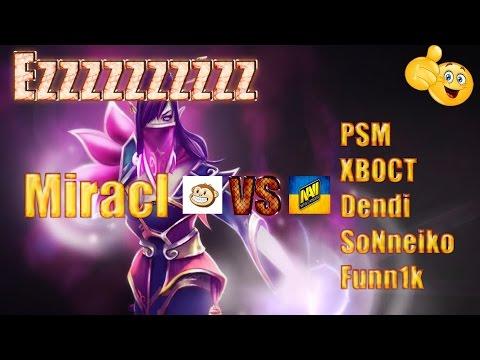 Dota 2 Miracle vs Dendi , PSM,ХВОСТ,SoNneiko,Funn1k   NaVi vs Monkey Business Game 3