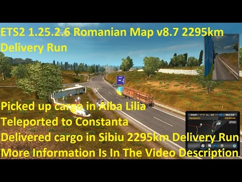 Map of Romania v8.7 [1.25.x]