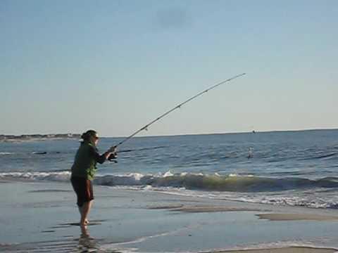 How to cast a fishing pole line - Olympics style rod n reelin
